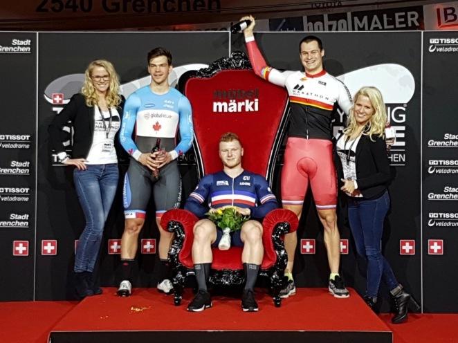 TTC 2017 podium