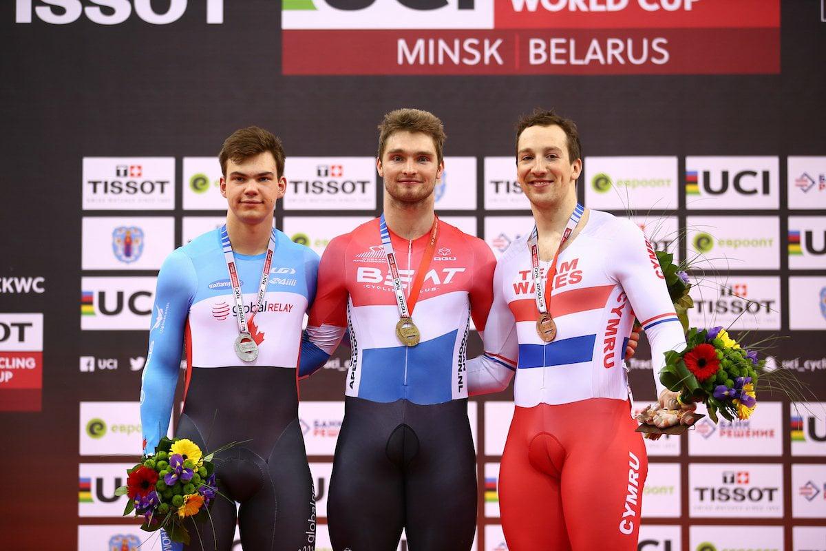Minsk World Cup V 2018 Silver Keirins
